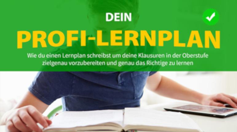 Profi-Lernplan